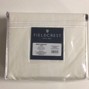Fieldcrest duvet cover set